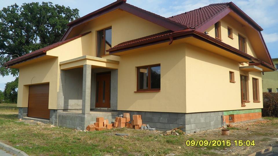 Novostavba - rodinný dom